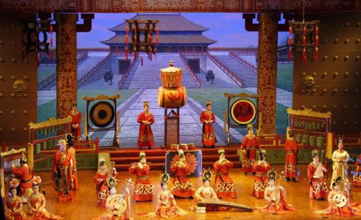 Tangų dinastijos muzikinis pasirodymas