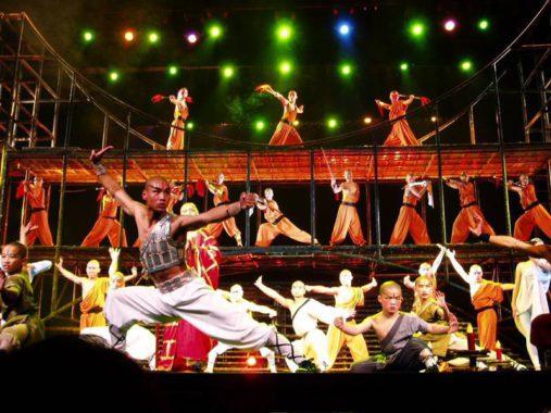 Kung Fu šou Pekine