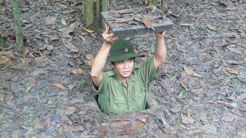 Chu Chi tuneliai