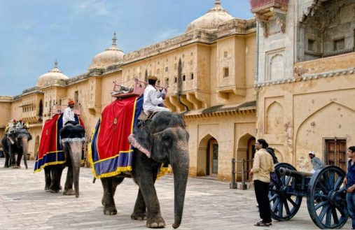 Amber Fort, Indija keliones