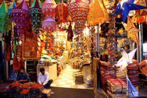 Chandni Chowk turgus, Indija keliones
