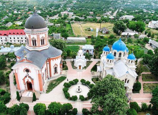Monastery Noul Neamt, Moldova