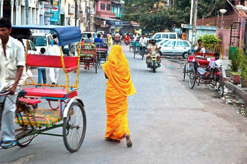 Gatve, Delis, Indija