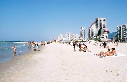 Paplūdimys Tel Avivas