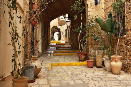 Old Jaffa Streets, Tel Aviv